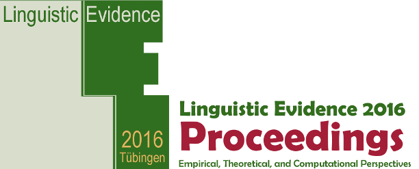Using Corpus Statistics in the Modeling of Linguistic Paradigms